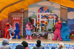 The Magic of Art show at Sesame Place Royalty Free Stock Image