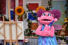 The Magic of Art show at Sesame Place Stock Photo