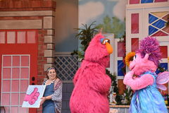 The Magic of Art show at Sesame Place Royalty Free Stock Photography