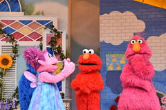 The Magic of Art show at Sesame Place Royalty Free Stock Images