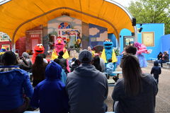 The Magic of Art show at Sesame Place Stock Photography