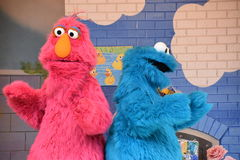 The Magic of Art show at Sesame Place Stock Image