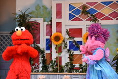 The Magic of Art show at Sesame Place. In Langhorne, Pennsylvania Royalty Free Stock Image