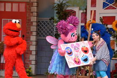 The Magic of Art show at Sesame Place. In Langhorne, Pennsylvania Royalty Free Stock Photos