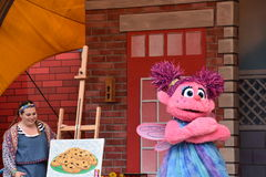The Magic of Art show at Sesame Place. In Langhorne, Pennsylvania Royalty Free Stock Photo