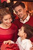 Magic atmosphere of christmas time Stock Images