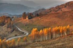 Magic autumn athmosfere Stock Photos