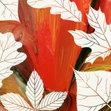 Magic Autumn Background Stock Photography