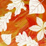 Magic Autumn Background Royalty Free Stock Images