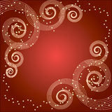 Magic background. For Christmas with stars Royalty Free Stock Image