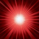 Magic background. Red abstract magic shining background vector illustration