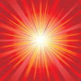 Magic background. Red abstract magic shining background stock illustration