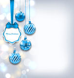 Magic Background for Merry Christmas Royalty Free Stock Images