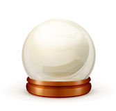 Magic ball. Object on white background Royalty Free Stock Photography