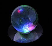 Magic Ball on disk Royalty Free Stock Image