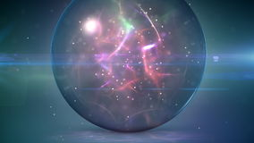 Magic ball loop stock video footage