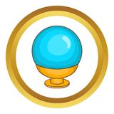 Magic ball vector icon Royalty Free Stock Photos