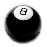 Magic ball. On a white background Royalty Free Stock Photos