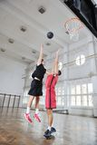 Magic basketball Royalty Free Stock Image