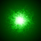Magic beam effect with lines Royalty Free Stock Image