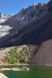 Magic beauty lake Elleri on pass Tioga Royalty Free Stock Images