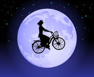 Magic bicycle Royalty Free Stock Photos