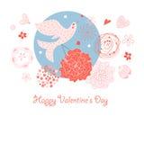 Magic Bird of Love Royalty Free Stock Image