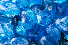 Magic blue stone Stock Images