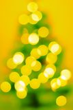 Magic blur Christmas tree Royalty Free Stock Images