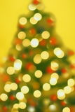 Magic blur Christmas tree Stock Photography