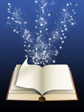Magic book (01) Royalty Free Stock Photo