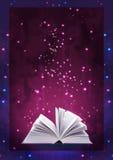 Magic book Royalty Free Stock Image