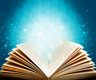 Magic book royalty free stock image