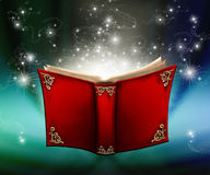 Magic book Royalty Free Stock Images