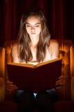 Magic book. Royalty Free Stock Images