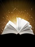 Magic book Stock Photography