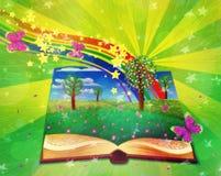 Magic book Royalty Free Stock Photography