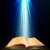 Magic book Royalty Free Stock Photo
