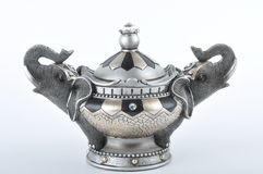 Magic bowl. Closeup shot of ornament magic bowl Stock Images