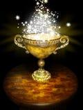 Magic bowl royalty free illustration