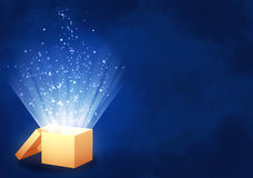 Magic box stock illustration