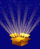 Magic box Royalty Free Stock Image