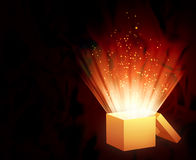 Magic box Stock Photography