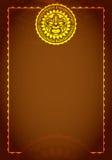 Magic brilliant vintage menu with sun. Vector. Magic vintage  with sun. Vector illustration Vector Illustration