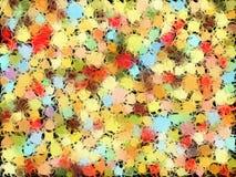 Magic bubbles Stock Images