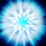 Magic burst. With rays of light, abstract background royalty free illustration