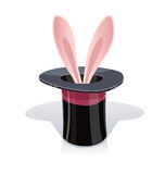 Magic cap and rabbits ear Stock Photography