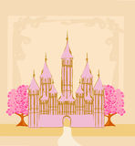 Magic Castle Royalty Free Stock Images