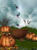 Magic Cauldron stock illustration