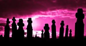 Magic Cemetery Stock Photos